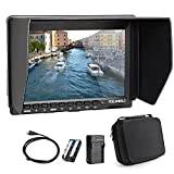 Feelworld FW759 7 Inches Ultra HD IPS 1280x800 On-Camera Field Monitor with Carrying Case for BMPCC, 5D2,5D3,7D,60D,550D,D7000,D800,D90 A7S,FS7,GH4
