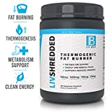 LIV Body   LIV Shredded Thermogenic Fat Burner   Metabolism Support, Reduces Cravings & Energy and Mental Focus   60 Vegetarian Capsules