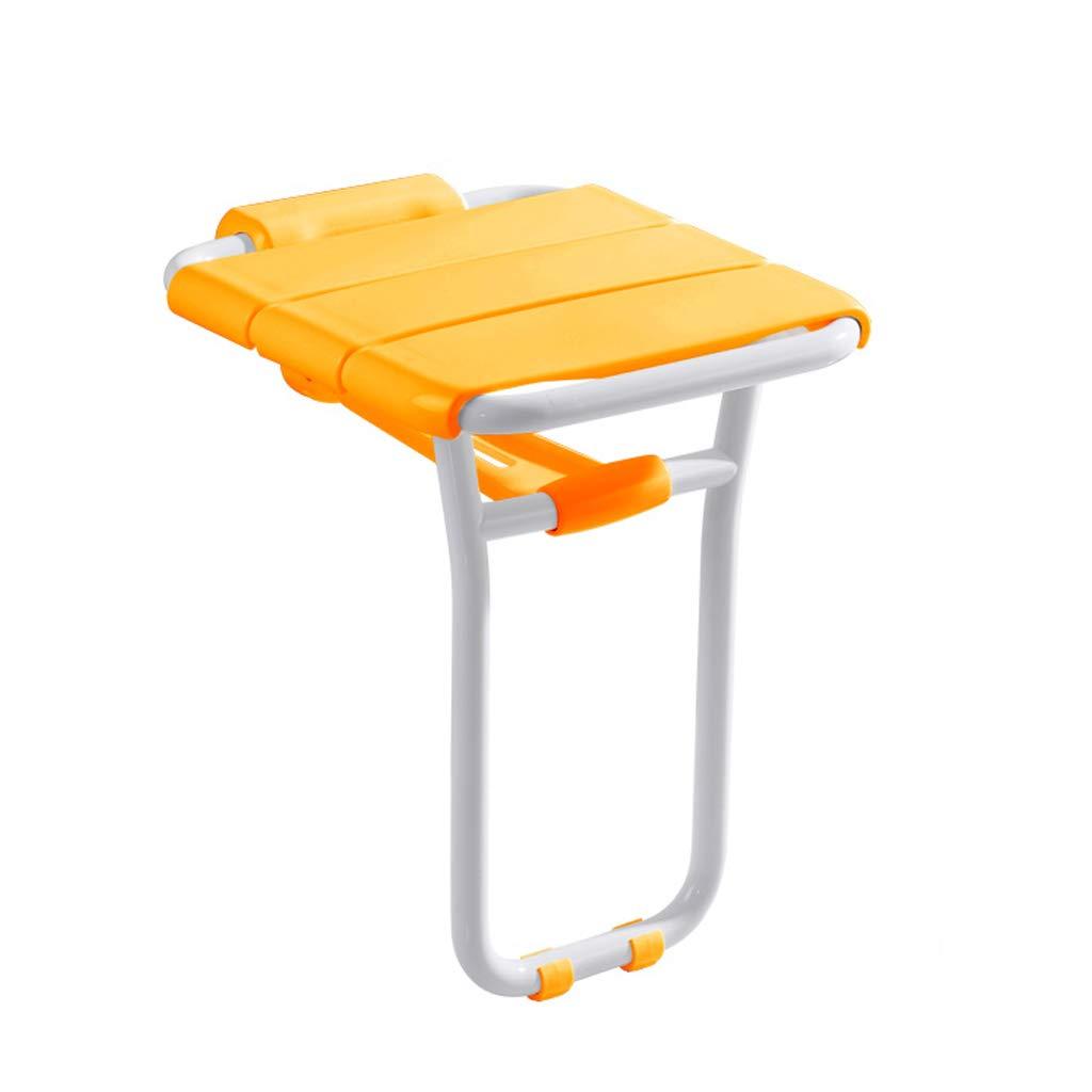 ZLL-Duschhocker Badehocker-Bad-Wand-Stuhl-Wand-Schemel-Badezimmer-faltender Wand-Stuhl/Portal-Korridor-Badezimmer/Antibacterial Nylonplatte/maximale Tragfähigkeit 200kg