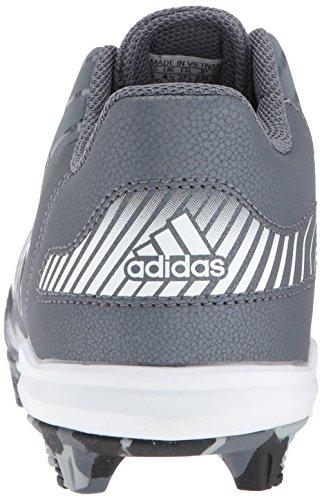 Adidas Man Missfoster X Kol Mitten Baseball Sko, Onix, Ftwr Vit, Ljusgrå, 1,5 M Oss Litet Barn