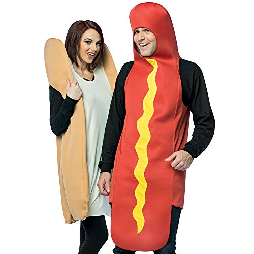 Rasta Imposta Hot Dog and Bun Adult Couples -