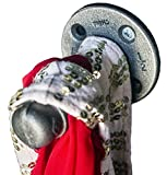 Industrial Pipe Coat and Hat Hook by DIY Cartel