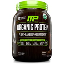 Muscle Pharm Plant Based Organic Protein Chocolate, 30 Servings, 3.2 Pound