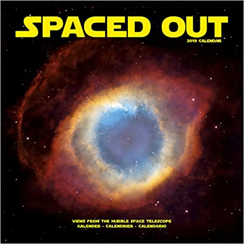Spaced Out 2019 Wall Calendar