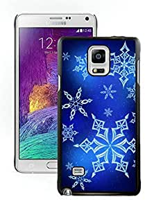 Galaxy note 4 case, Samsung Galaxy note 4 cases,Christmas snowflake Samsung Galaxy note 4 Case Black Cover