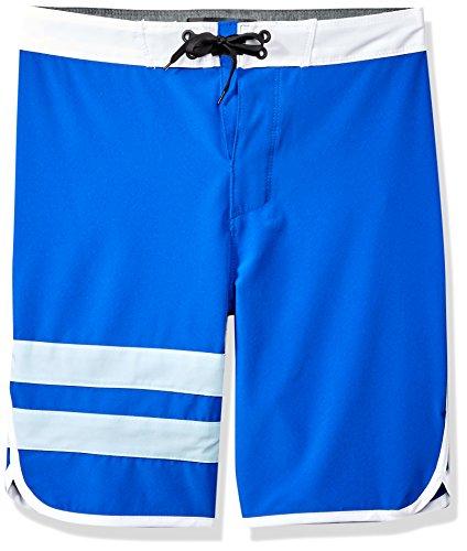 Hurley Big Boys' Phantom Board Shorts, Racer Blue/Ice, 14