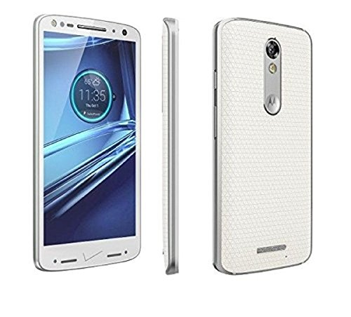 Motorola Droid Turbo2 32GB Verizon and GSM Unlocked, Soft White(Certified Refurbished)