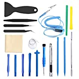 ORIA Opening Tool Kit, Professional Pry Repair Kit, Repair Multi Opening tool Kit, Anti-Static Wrist Strap for Phone 8, 8 Plus, Samsung, iTouch, PC, Other Small Appliances (23 Pieces)