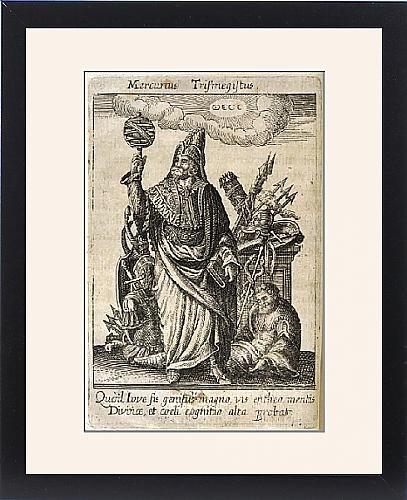 Framed Print Of Hermes Trismegistus by Prints Prints Prints