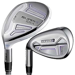 Adams Golf Super S Golf Iron Set (Left Hand, Graphite, X-Stiff, 3-PW)