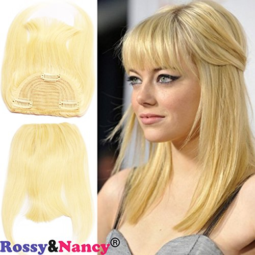 Rossy&Nancy #613 Blonde Color Brazilian Human Hair Clip-in H