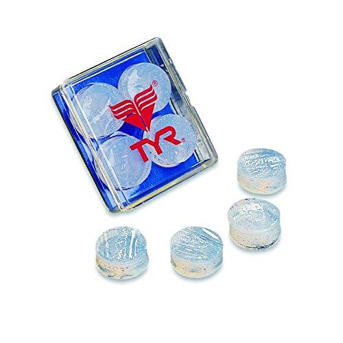 - TYR Soft Silicone Ear Plugs, Clear