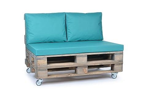 Mobili Con Pallets : Cuscini imbottiti per divano realizzati con pallet in legno