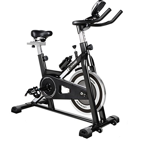 L-NOW Fitness Indoor Cycling Bike, Indoor Stationary Trainer Exercise Bike, Black (506) L NOW