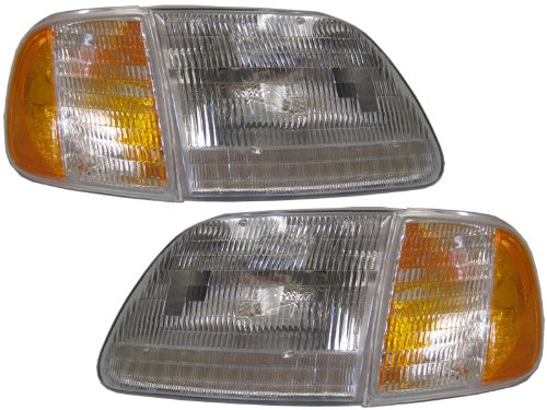 04 ford f150 heritage headlights - 2