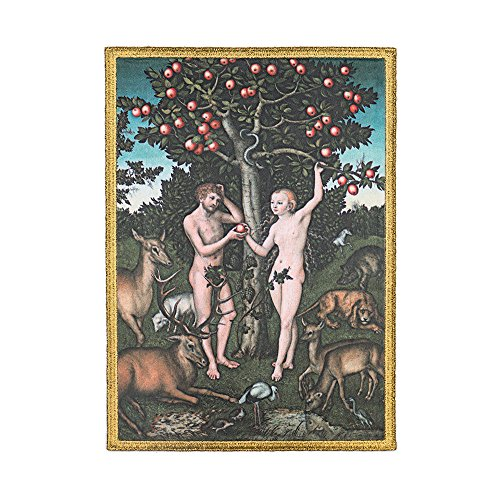 The Metropolitan Museum of Art Iron or Sew On Adam and Eve Embroidered Patch ()