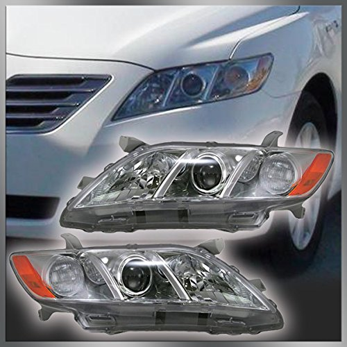Headlights Headlamps Left & Right Pair Set for 07-09 Toyota Camry US Models