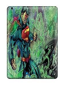 Hot Fashion XaldsZR338oLhTC Design Case Cover For Ipad Air Protective Case (new 52 Justice League Superman Batman ) wangjiang maoyi