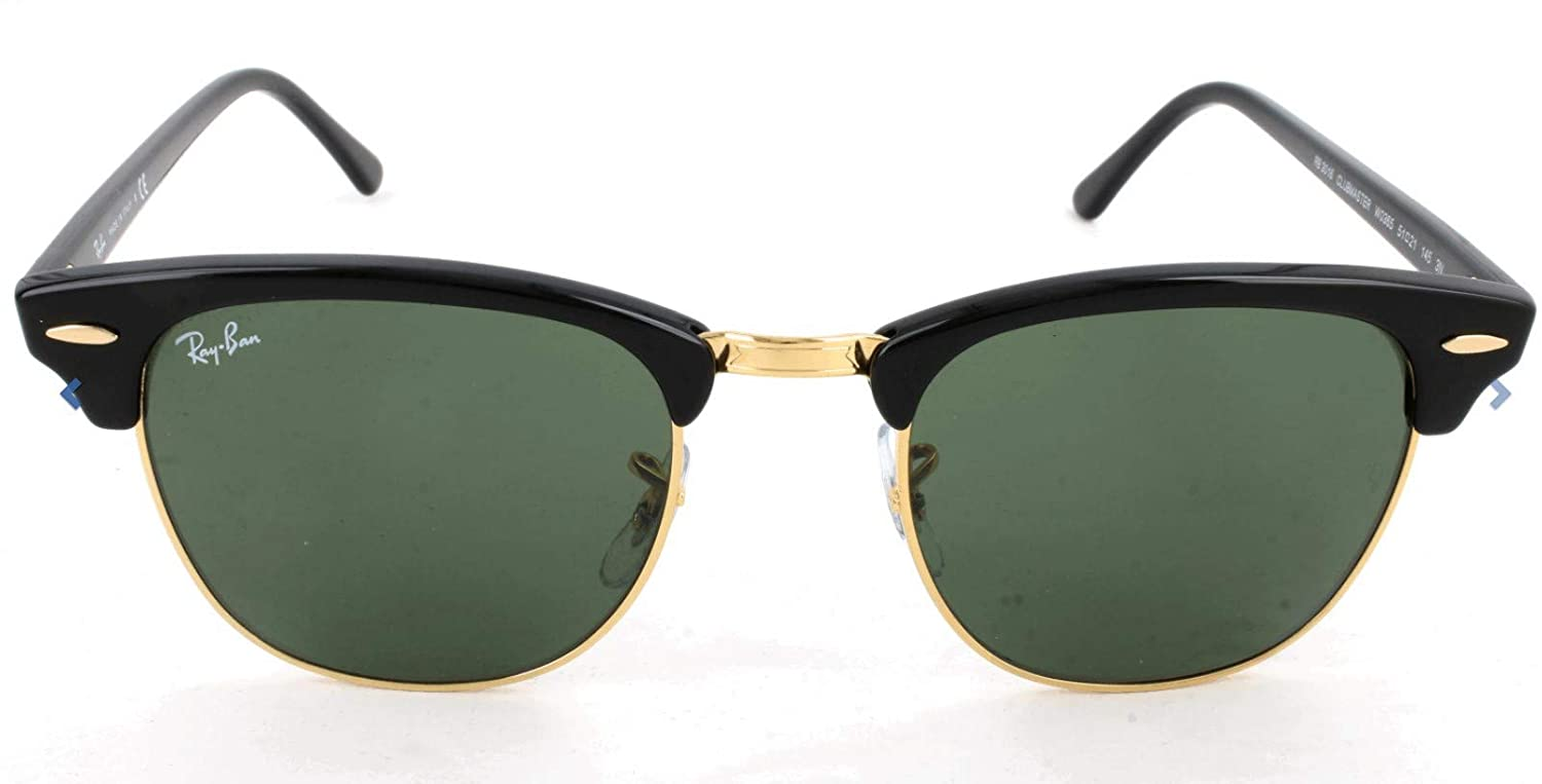 c8744f2e1 Ray-Ban UV Protected Unisex Classic Clubmaster Sunglasses (RB3016|51):  Amazon.in: Clothing & Accessories