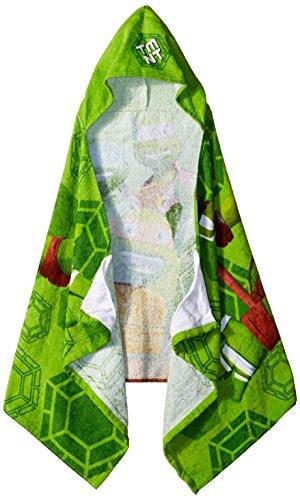 Nickelodeon Teenage Mutant Ninja Turtles Crash Landing Cotton Hooded Towel ()