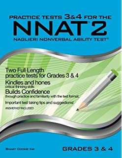 Nnat3 practice test level d 3rd and 4th grade naglieri nonverbal practice tests 3 4 for the nnat2 grades 3 4 level d fandeluxe Gallery