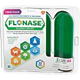 Flonase 24hr Allergy Relief Nasal Spray, Full Day Allergy Relief, 288 sprays (Twinpack of 144 sprays)