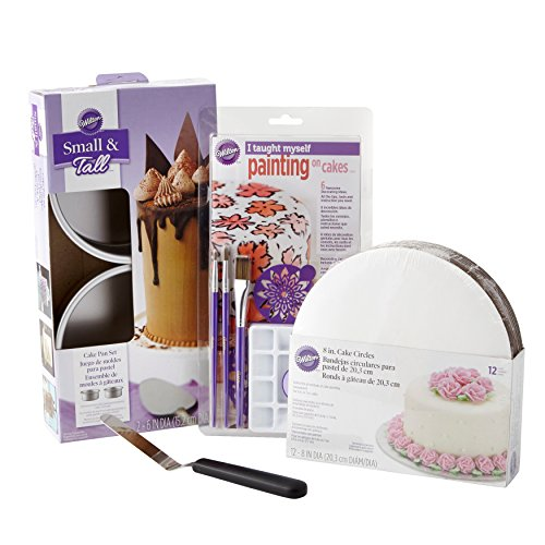 Wilton I Taught Myself Painting on Cakes - Cake Decorating Kit,  22-Piece