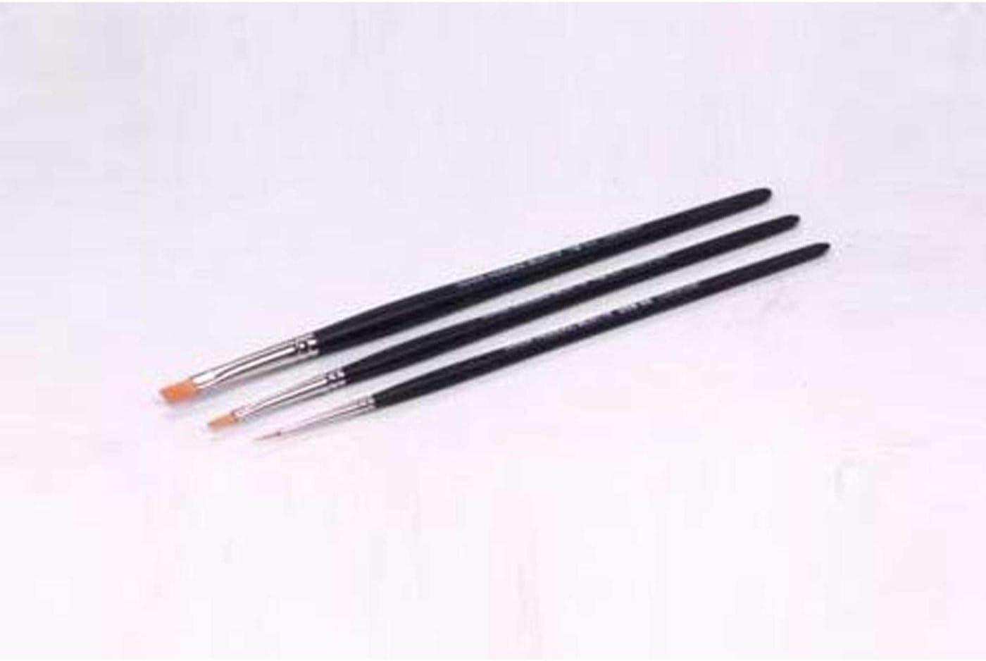 Tamiya Models Modelling Brush HF Standard Set 3 different Brushes