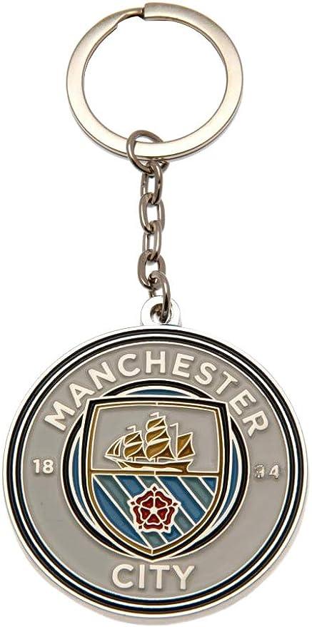 Manchester City Panneau de Rue en Couleur Officielle de Multicolore