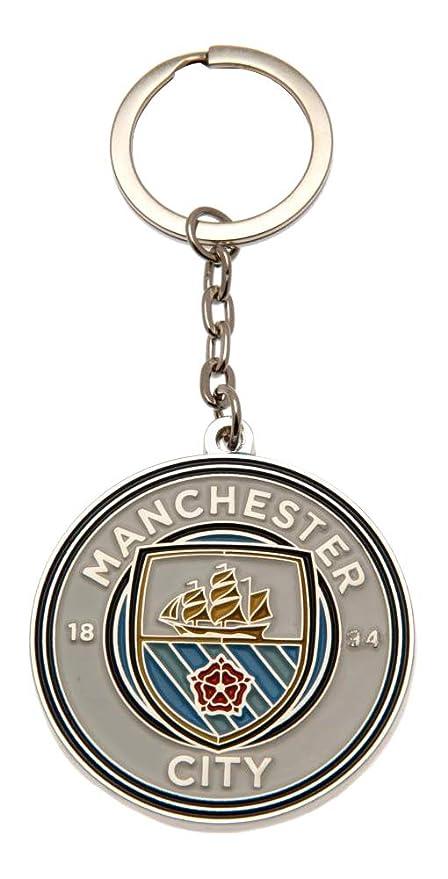 FC Manchester City 2665 Llavero, Niños, Talla Única: Amazon ...