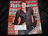 img - for Rolling Stone Magazine (Clay Aiken , LUke Wilson , Michelle Branch , Jack Johnson , The 20 Greatest Living Bands, July 10 , 2003) book / textbook / text book