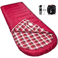 Reisen 0 Degree Celsius Cold Weather Sleeping Bag for Camping/Backpacking/Hiking