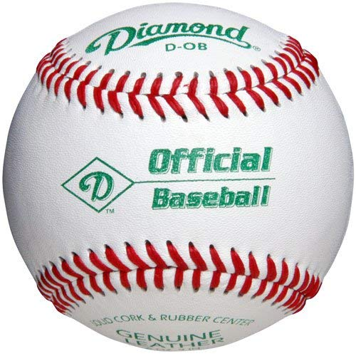 (Diamond D-Ob Official Leather Baseballs 12 Ball Pack)