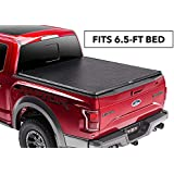"TruXedo Truxport Soft Roll-up Truck Bed Tonneau Cover | 298301 | fits 15-19 Ford F-150 6'6"" Bed"
