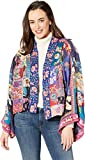 Johnny-Was-Womens-Cropped-Embroidered-Kimono-Multi-XS
