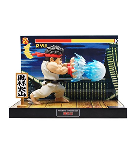 Playstation Toy - Tier1 Accessories Ryu Street Fighter Fully Licensed LED Light and Sound Figure - PlayStation 3;PlayStation 2;PlayStation;