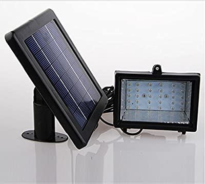 BIZLANDER® Waterproof Ultra Bright Solar 30 LED Outdoor Spot Flood Light Lawn Lamp
