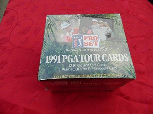 1991 PRO SET GOLF FACTORY SEALED 36 PACK BOX NR MINT/ MINT NICE BOX