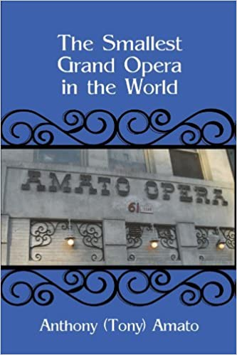 Book The Smallest Grand Opera in the World by Anthony Amato (2011-08-29)