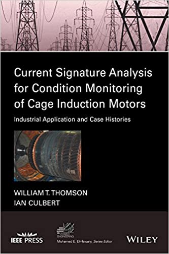 Current Signature Analysis for Condition Monitoring of Cage