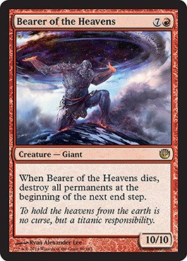 Magic: the Gathering – Bearer of the Heavens (/165) – Journey into Nyx