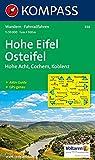 Hohe Eifel - Osteifel: Wander- und Bikekarte. Hohe Acht - Cochem - Koblenz. 1:50.000. GPS-genau