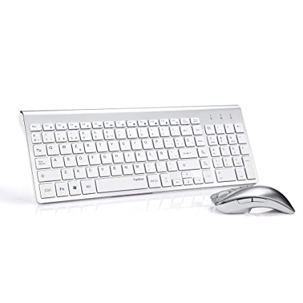 Topmate KM9001- Conjunto de teclado y ratón inalámbricos para ordenador