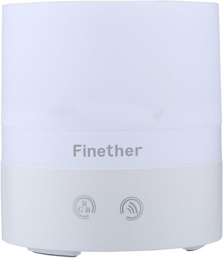 Finether - 100ml Humidificador Ultrasónico de Aire, Difusor de ...
