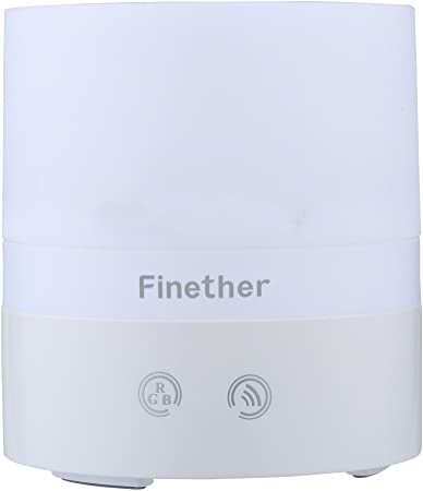 Finether - 100ml Humidificador Ultrasónico de Aire, Difusor de ...