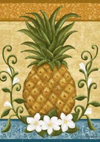 Custom Decor Colonial Pineapple Garden