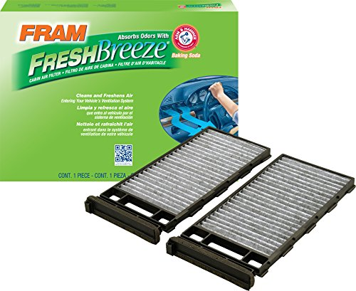 FRAM CF11180 Fresh Breeze Cabin Air Filter with Arm & Hammer ()