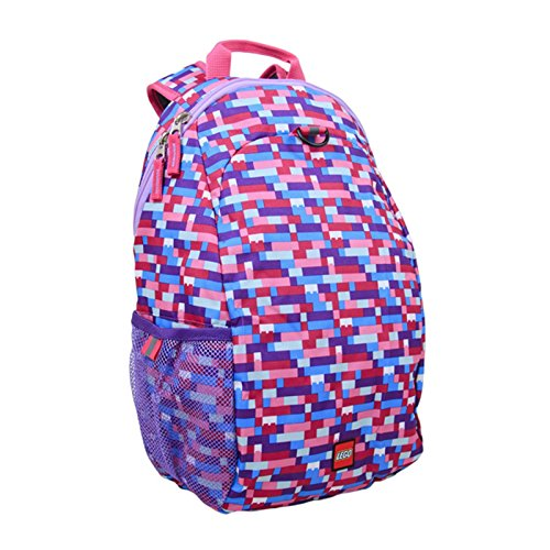 LEGO Brick Pink/Purple Heritage Basic Backpack, Multi