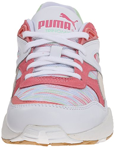 Puma zapatilla de deporte costera R698 White/Patina Green