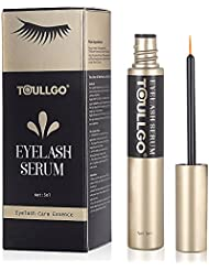 Eyelash Growth Serum, Eyelash Conditioner, Grows Longer, Fuller, Thicker, Enhancing Conditioner Treatment Boosts Regrowth Prevents Thinning Breakage and Fall Out (5ML)